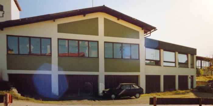Fensterbau in Burgberg 1987